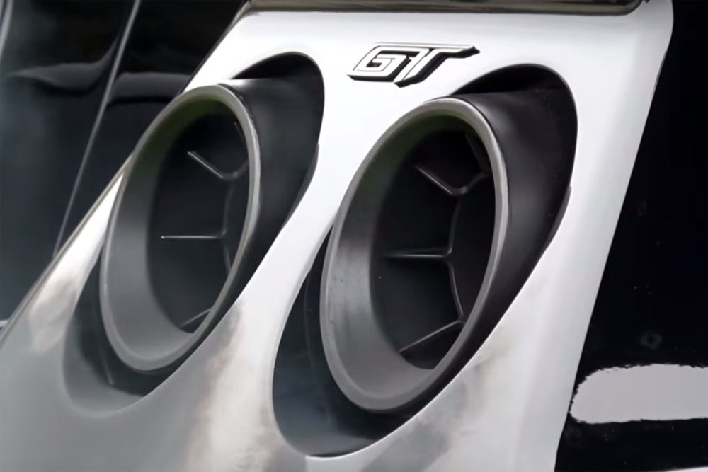 Ford GT Heritage Edition Exhaust Note Pebble Beach