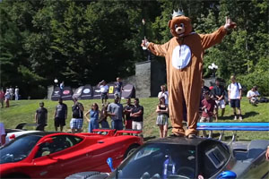 Bert the Bear Pagani Zonda Monza
