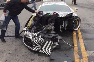 DailyDrivenExotics Crashed Liberty Walk Ferrari 458