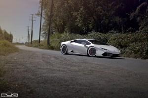 Lamborghini Huracan with PUR LX23.V3 Wheels