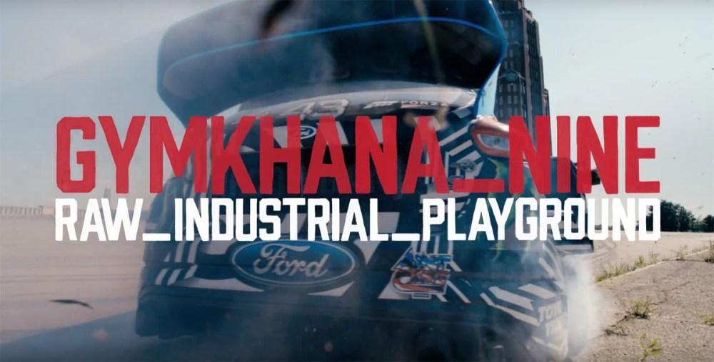 Gymkhana Nine: Raw Industrial Playground