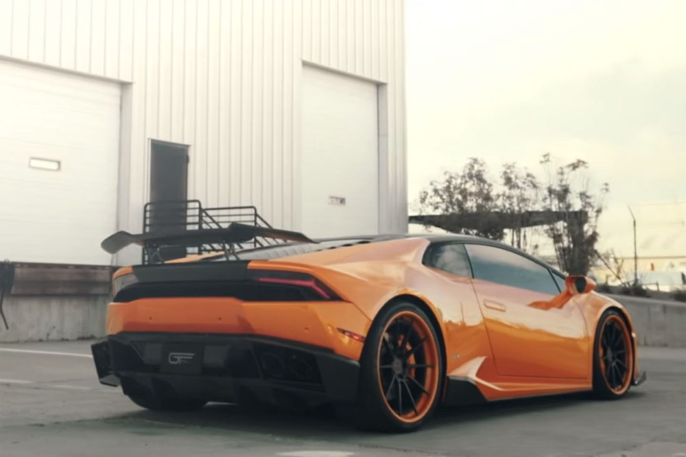 Lamborghini Huracan with IPE Valvetronic Exhaust