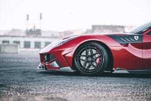Ferrari F12Berlinetta Brixton Forged WR7 Wheels