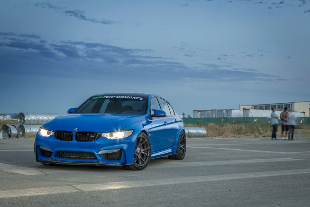BMW M3 with Vorsteiner V-FF 103 Wheels