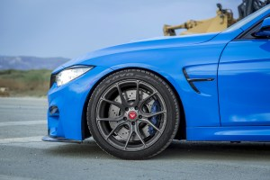BMW M3 with Vorsteiner V-FF 103 Wheels