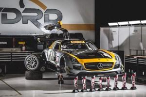 DIME Racing Mercedes-Benz SLS AMG GT3