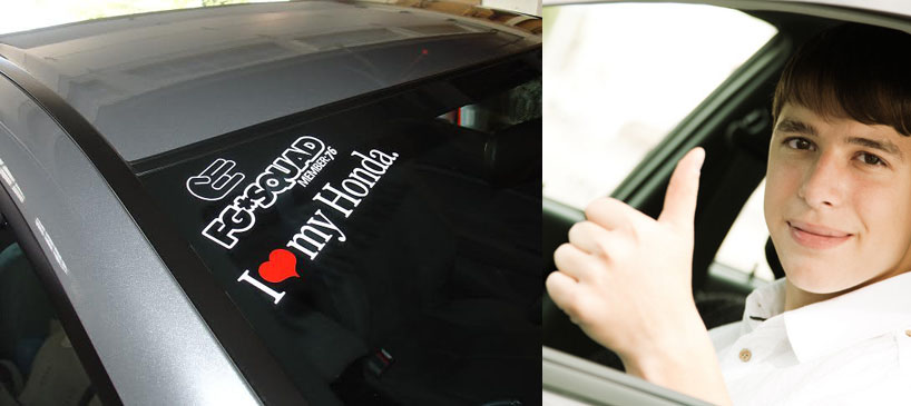 MotoringExposed Car Sticker Craze