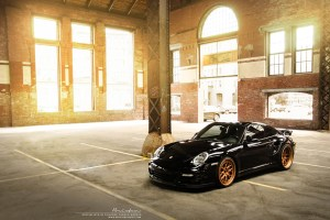 Porsche 911 Turbo with Brixton Forged CM16 Circuit Series Wheels
