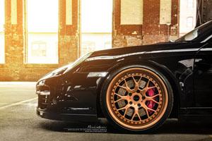 Porsche 911 Turbo Brixton Forged CM16 Wheels