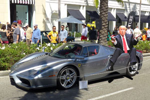 Donald Trump Leaked Car Show Pictures - MotoringExposed