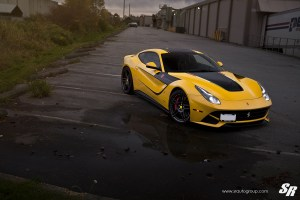 Ferrari F12Berlinetta with Novitec Rosso NF3 Wheels by SR Auto Group