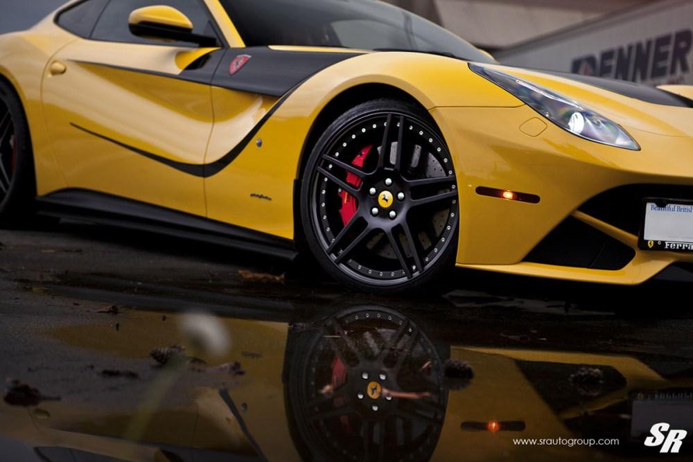 Ferrari F12Berlinetta with Novitec Rosso NF3 Wheels by SR Auto Group