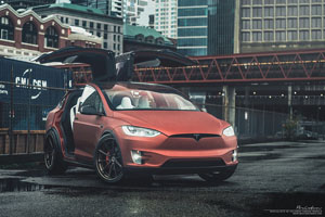 Tesla Model X Brixton Forged Wheels