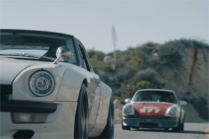 Magnus Walker and Sung Kang Car Swap