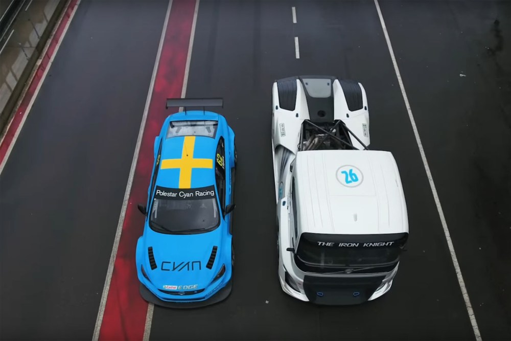 Iron Knight vs S60 Polestar TC1