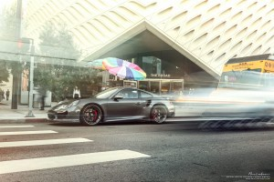 Porsche 911 Turbo S with Brixton Forged CM5 Targa Series Wheels