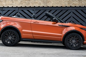 Project Kahn Phoenix Orange Range Rover Evoque Convertible