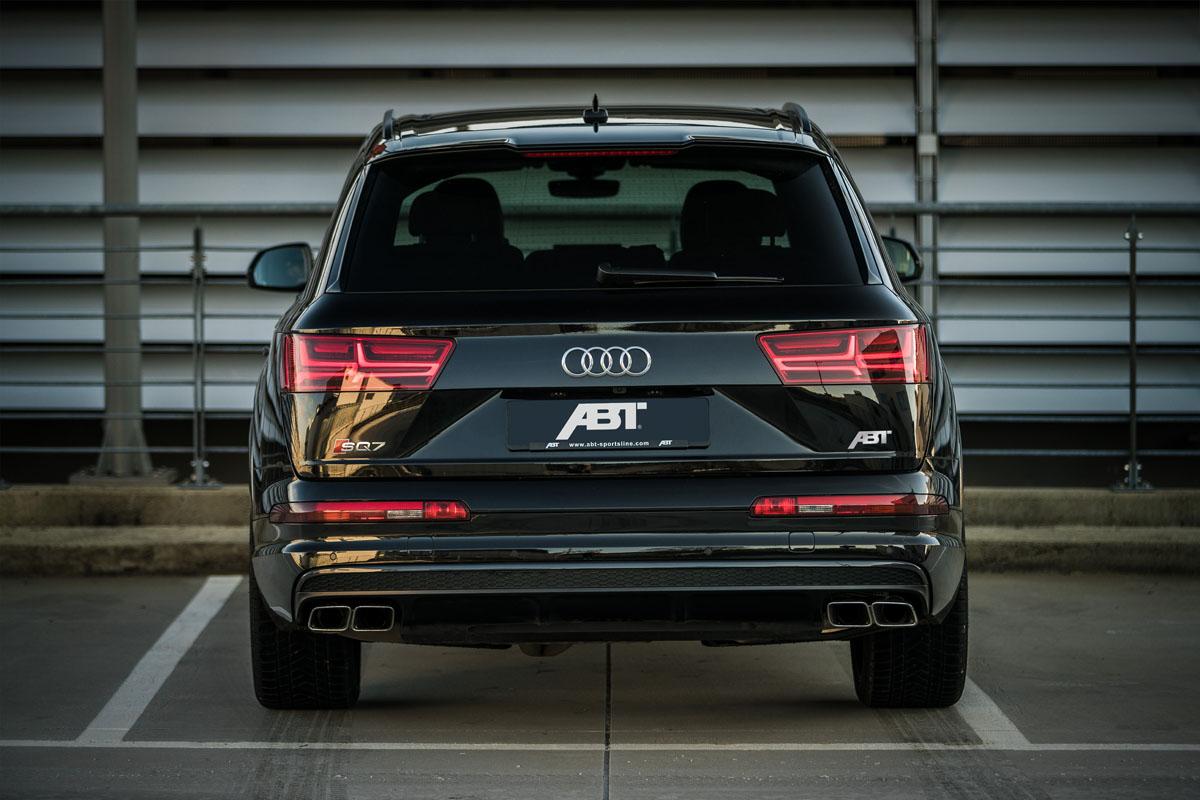 Audi audi sq7 tdi : The new ABT Sportsline SQ7 TDI is a Torque-Filled Beast!