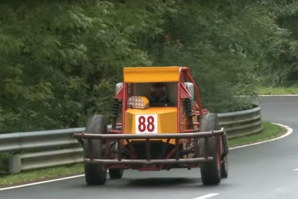 Race Tractor hill climb
