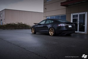 Tesla Model S P85+ with PUR RS03 wheels by SR Auto Group