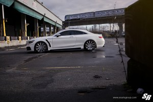 SR Auto Group Mercedes-AMG S63 Coupe with PUR LX15.V3 Wheels
