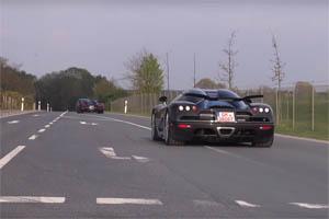 'Spring Event' car show exit