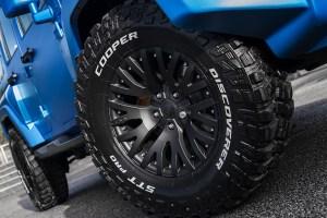 Chelsea Truck Company Volcanic Sky Jeep Wrangler Black Hawk Edition