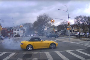 Honda S2000 Burnout Brooklyn