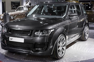Project Kahn Range Rover Vogue Pace Car