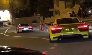 Supercars in Monaco