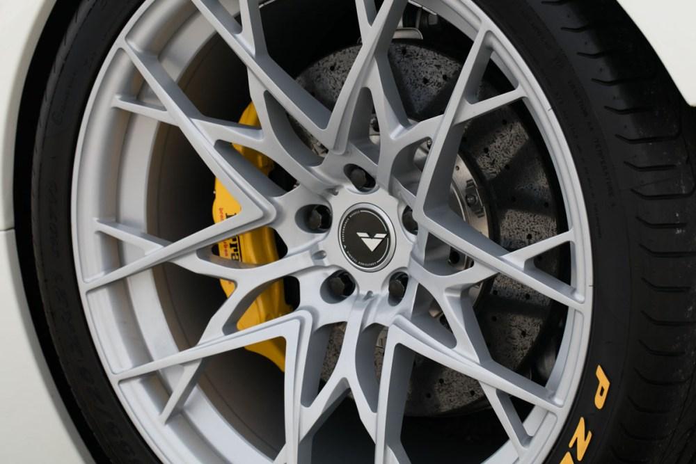 Vorsteiner Ferrari 458-VX with VFN-507 Wheels