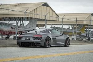 Audi R8 with Vorsteiner V-FF 105 Wheels and VRS Aero
