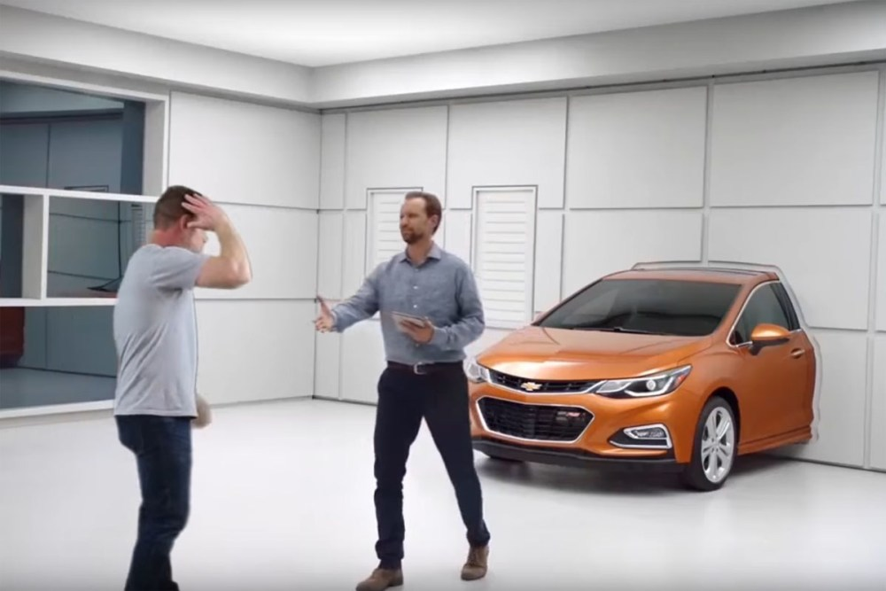Real People Not Actors Chevy Cruze Hatchback Parody