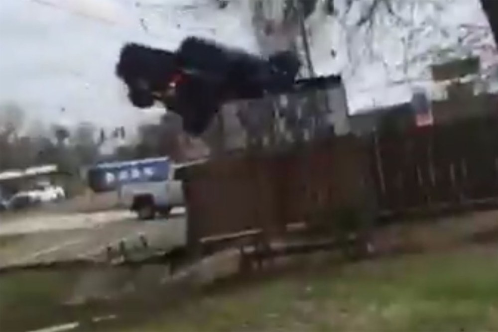 Friday FAIL Toyota Tacoma Jump