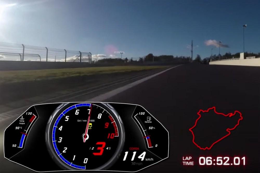 Lamborghini Huracán Performante Nürburgring Nordschleife Record