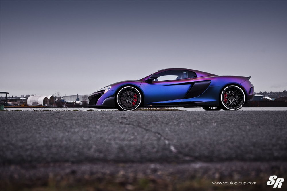 McLaren 675LT with PUR RS25 Wheels