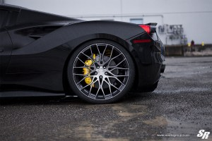 Ferrari 488 GTB with PUR RS25 Wheels by SR Auto Group