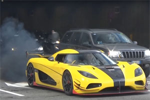 Koenigsegg Agera RS engine trouble