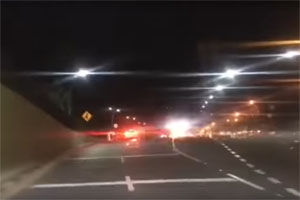 Mercedes-AMG A45 Crash in Columbia