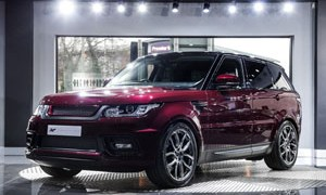 Mantalcino Red Project Kahn Range Rover