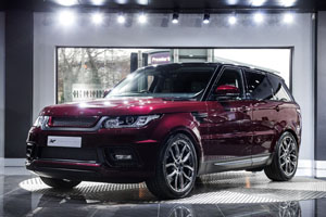 Mantalcino Red Project Kahn Range Rover