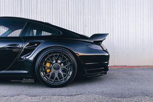 997.2 Porsche 911 Turbo Brixton Forged CM16 Wheels
