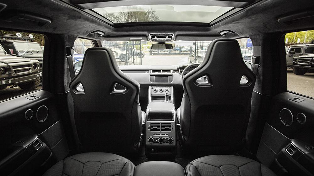 Project Kahn Range Rover Sport SVR Pace CarProject Kahn Range Rover Sport SVR Pace Car
