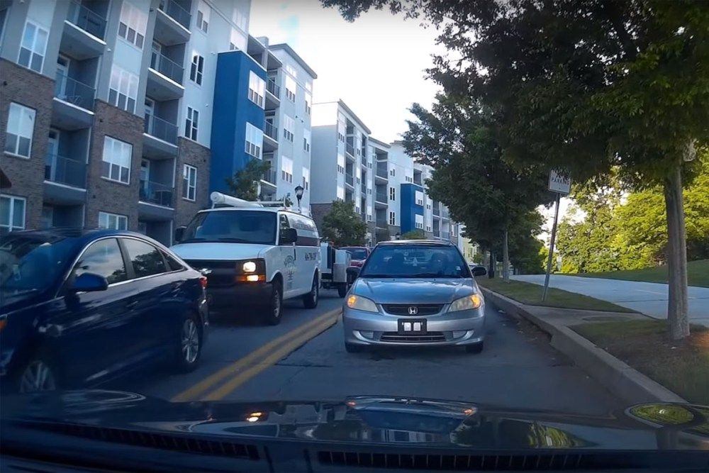 Friday FAIL: Wrong Way Driver