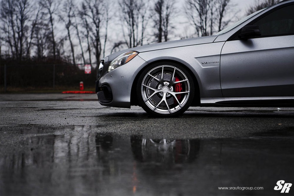 Mercedes-Benz E63 AMG Estate with PUR SP04 Wheels by SR Auto Group