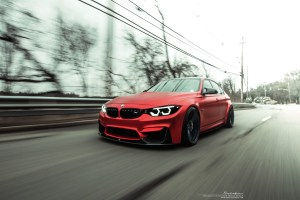 BMW M3 with Brixton Forged M51 Duo Series Wheels