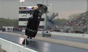 Friday FAIL Chevrolet Corvette Crash at the Drag Strip