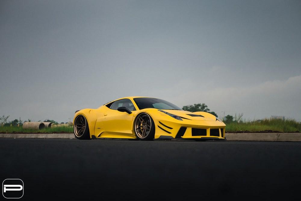 Featured Fitment: Widebody Ferrari 458 with PUR LX23.3 Wheels » MotoringExposure