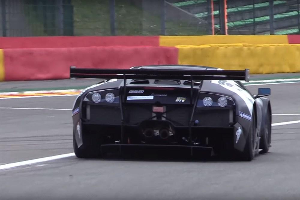 This Is The Lamborghini Murcielago 670 R Sv Gt1 In Action