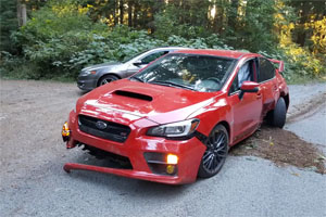 Friday FAIL Subaru WRX STI Crash